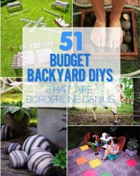 51 Budget-Friendly DIY Backyard Ideas - Our Home Sweet Home