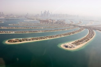 The Palm Jumeirah, dubai honeymoon destinations