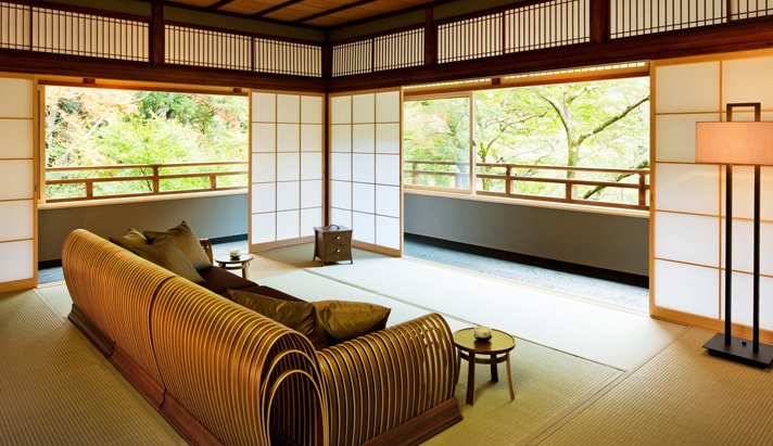 Tsuki Maisonette Room in Hoshinoya Kyoto