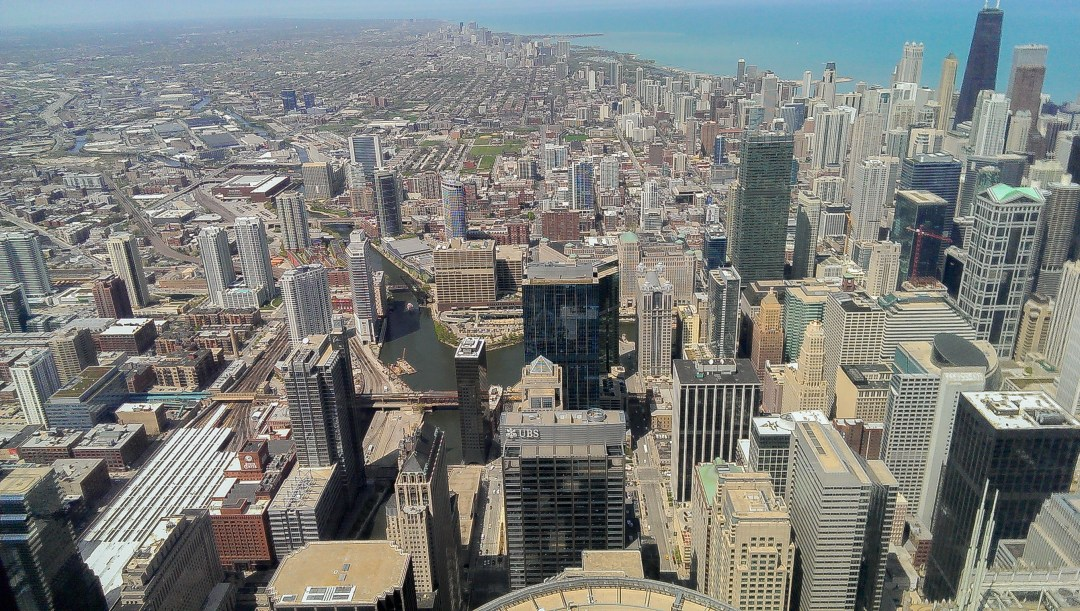View from Skydeck Chicago