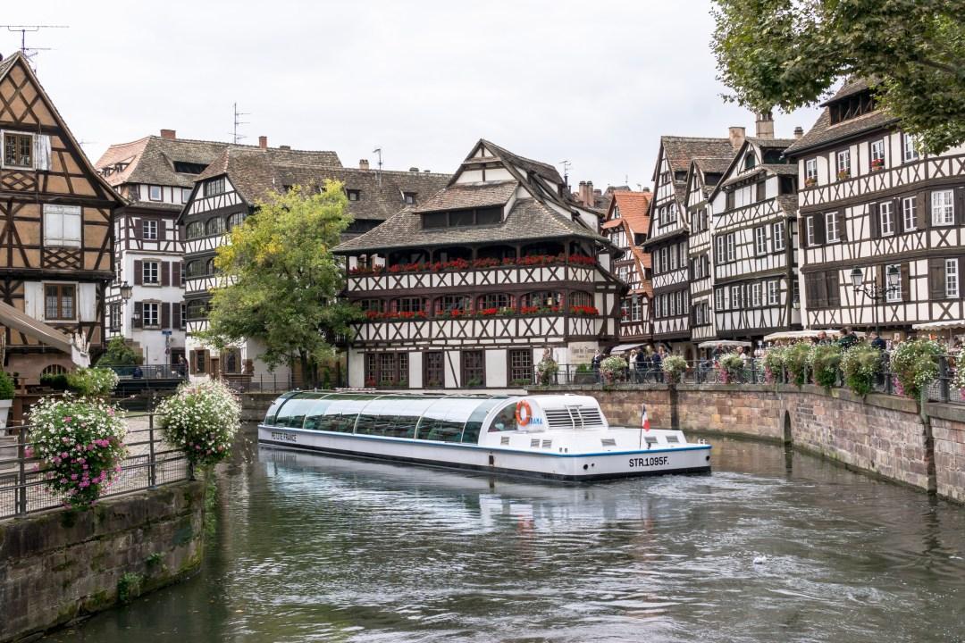 Boat ride Strasbourg
