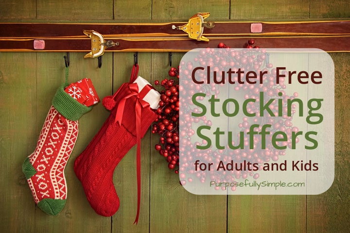 are you looking for clutter free stocking stuffers for adults and kids check out these