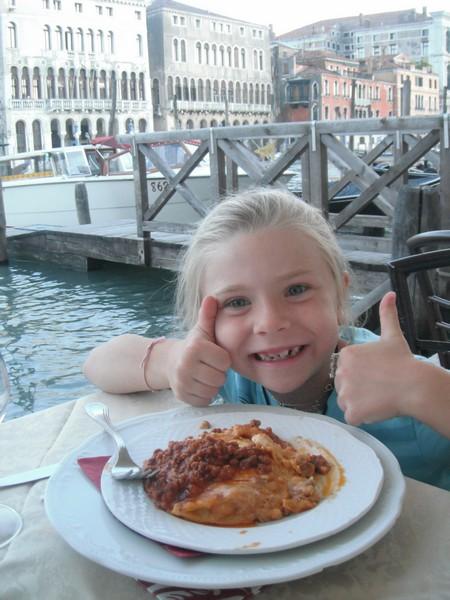 Loving the pasta
