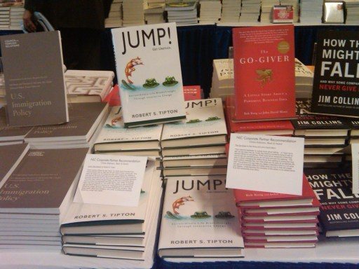 JUMP!-ing into the National League of Cities Convention Bookstore 2010