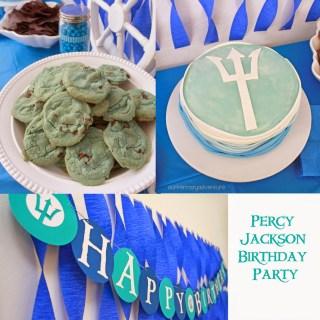 Percy Jackson Birthday Party