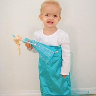 Easy Elsa Dress Tutorial