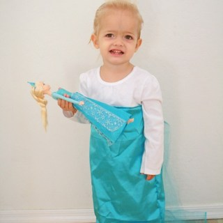 Easy Elsa Dress Tutorial