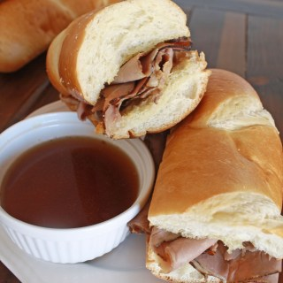 Roast Beef Sandwiches with Au Jus