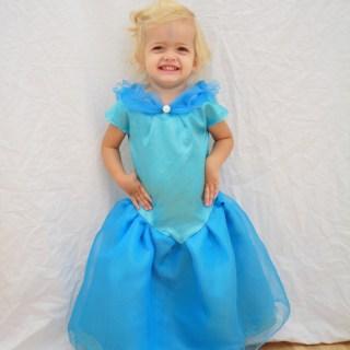 Cinderella Costume Tutorial
