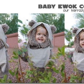 Baby Ewok Costume Tutorial