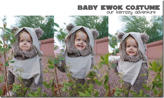 Baby Ewok Costume Tutorial Our Kerrazy Adventure