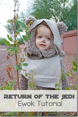 Return of the Jedi Ewok Tutorial Star Wars Costume Our Kerrazy Adventure copy
