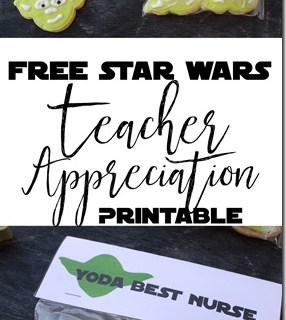 Free Star Wars Teacher Appreciation Treat Topper
