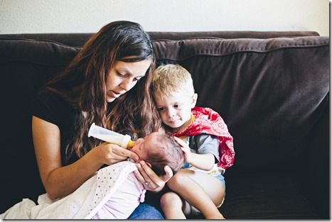 God sent His children to be part of a family. As a family we should strive to teach our children. Image by Shari Hanson