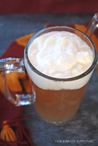 Butter Berr Recipe- DIY Mug for Butterbeer- Harry Potter Food Ideas