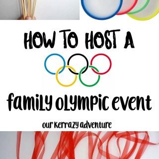 Family Olympics Event