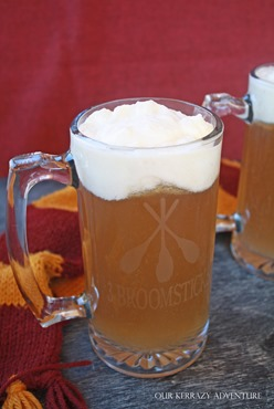 Make your own 3 Broomsticks Mug- Butterbeer Recipe- Harry Potter Ideas