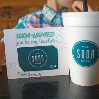 Free Soda Gift Tag Printable