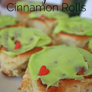 Grinch Cinnamon Rolls for Your WhoVille Brunch