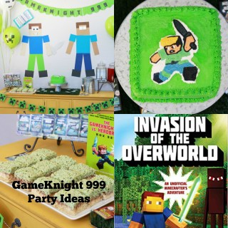 GameKnight 999 Party Ideas