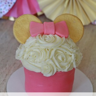 DIY Minnie Mouse Smash Cake