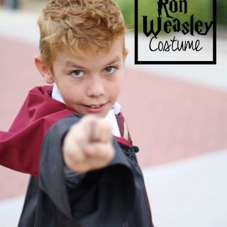 DIY Ron Weasley Costume