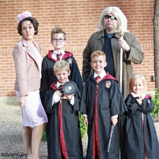 DIY Family Harry Potter Costumes Ideas