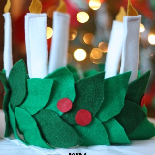 DIY Saint Lucia Day Crown and Activities