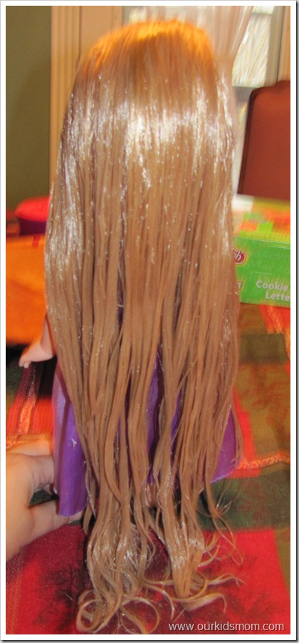 Is Your Rapunzel Doll  TANGLED How to Detangle Doll Hair