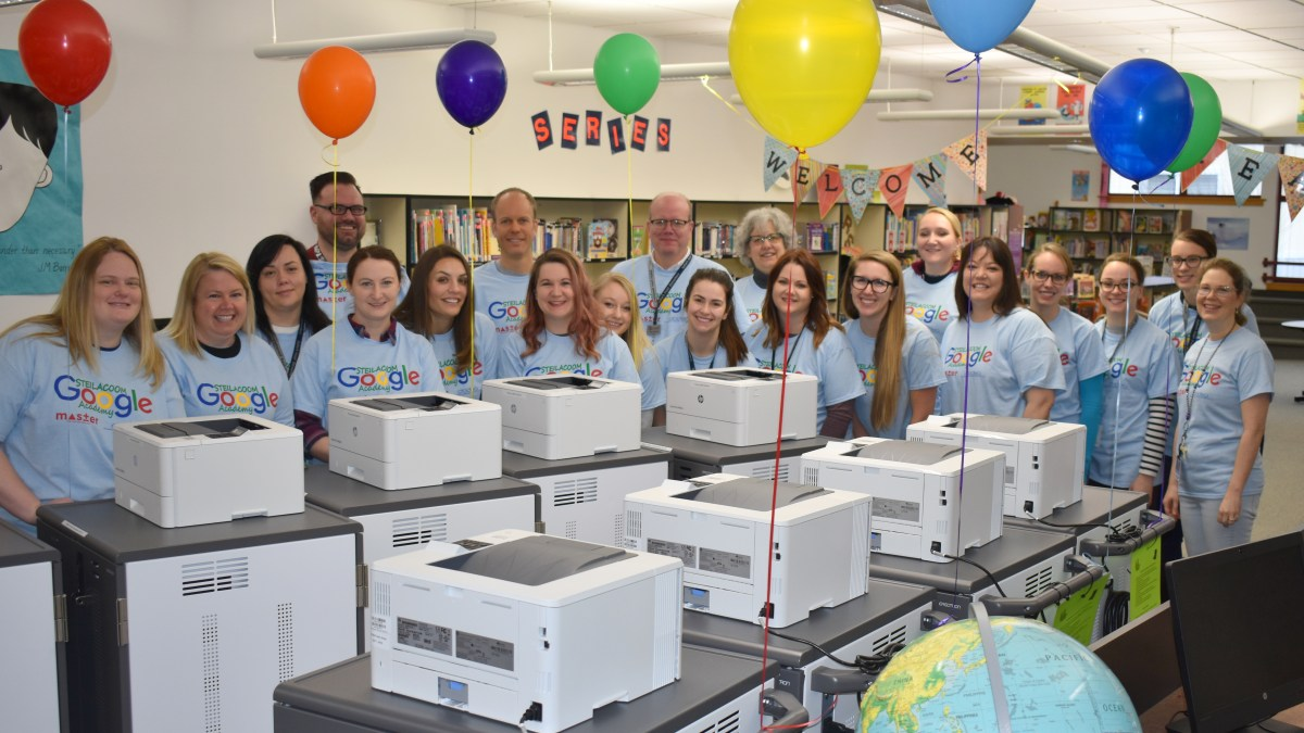 Department of Defense Grant Helps Fund a 1:1 Student Technology for Steilacoom District Students