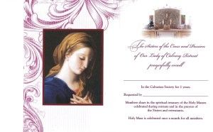 prayerful remembrance inside