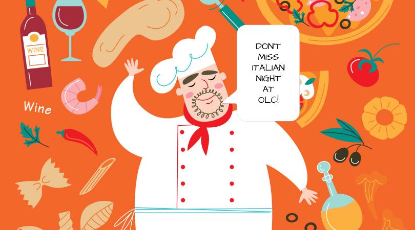 Don't miss Italian Night