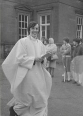 Bishop Nolans at Bishop Taylors installation 1981