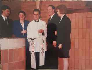 Danielle Houston Baptism 1990 1