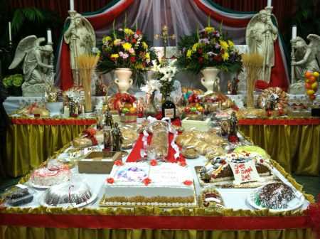 Feast of St Joseph The Bountiful Table The Shrine of