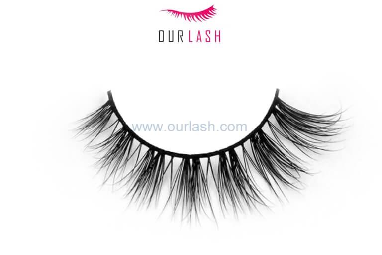 Handmade False Eyelash Own Brand Mink Eyelashes #LT86