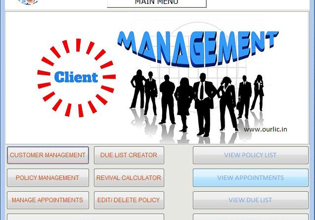 Client Management Software free Download