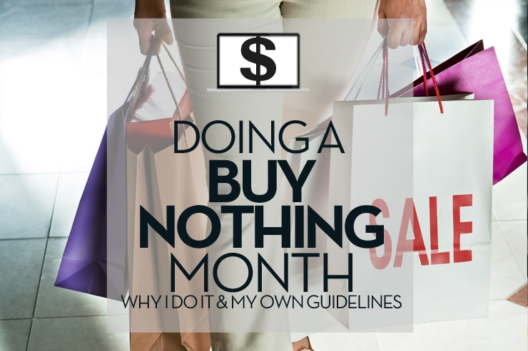 doing-a-buy-nothing-month