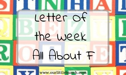"Letter Of The Week – All About ""F"""