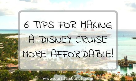 6 Tips To Make Your Disney Cruise More Affordable!