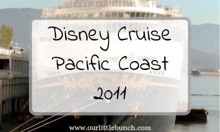 Family Disney Cruise Fall 2011 – Pacific Coast