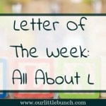 Letter Of The Week – All About L
