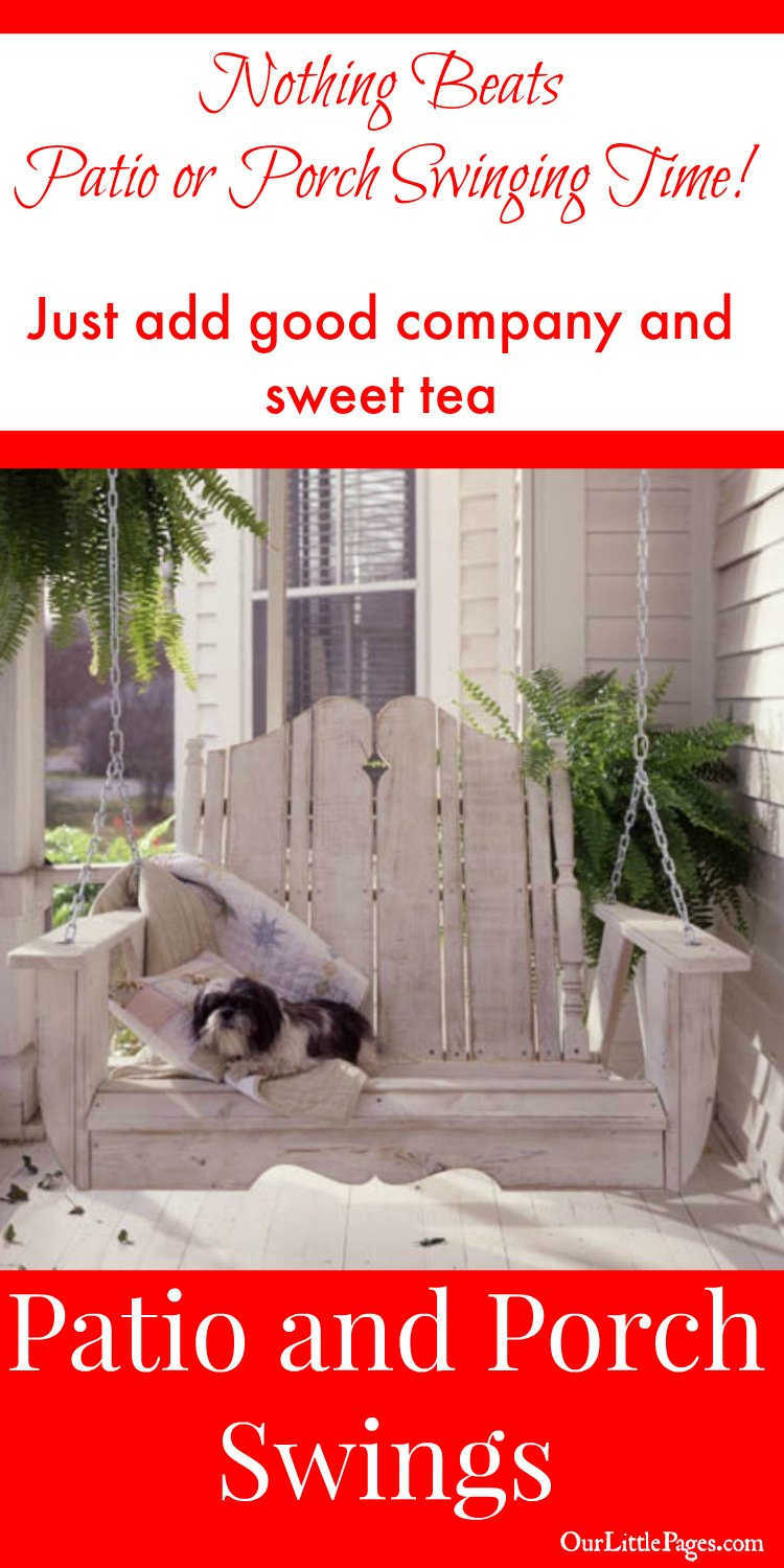 adirondack rocking chairs resin chair back covers amazon patio and porch swings - come sit a spell