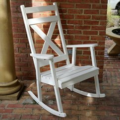 All Weather Rocking Chairs Hammock Chair Stand In Store Southern Style White For The Porch - Come Sit A Spell
