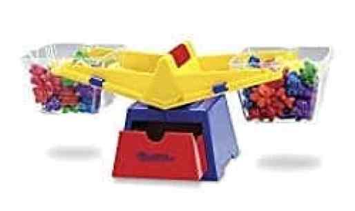 balance with buckets math manipulatives for homeschoolers