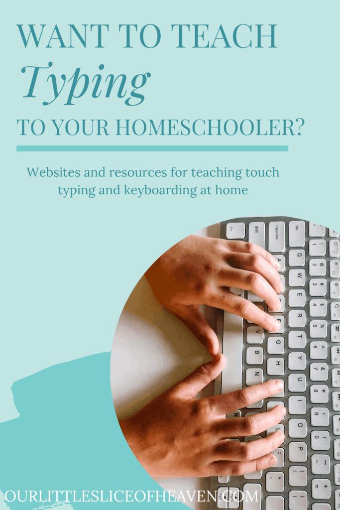 typing programs for homeschool