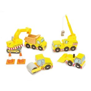 Le Toy Van Bulldozer sæt i træ