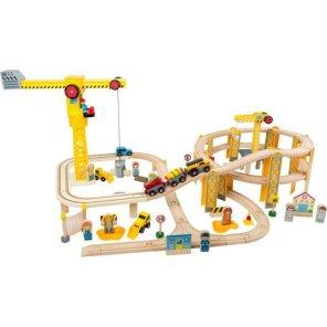 small foot togbane sæt byggeplads kravko tog