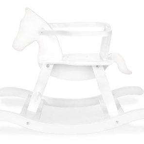 pinolino gyngehest hvid