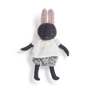 moulin roty lune kanin bamse dukke kludedukke